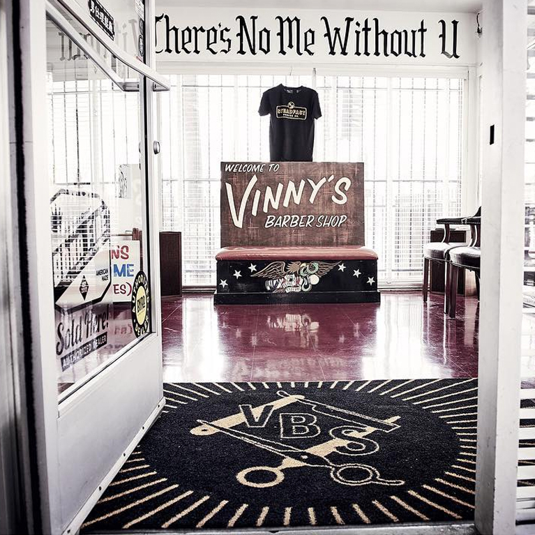Vinny's Barber Shop - photo by @xkylex