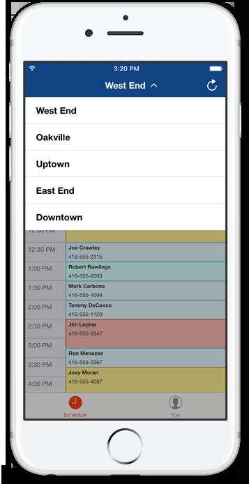 Resurva iOS app - Multi service selection