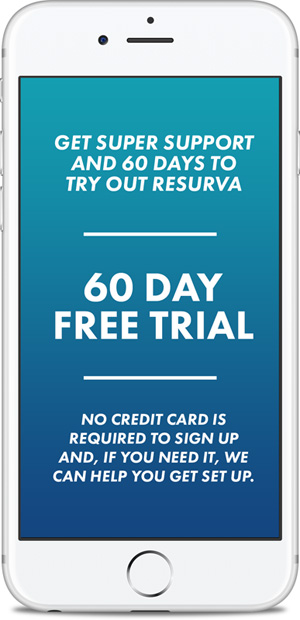 Resurva feature - 60 Day Trial