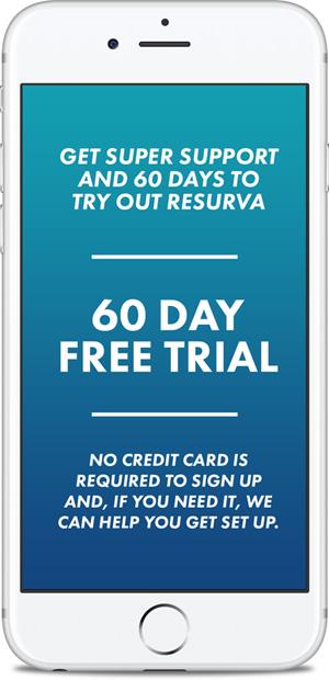 Resurva feature - 60 Day Trial
